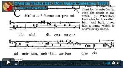 Christus factus est