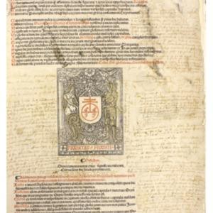 Decretalium copiosum argumentum Diuisiones glosarum ex Joannis andree nouella diligenter deprompte : hic diligenter annotantur