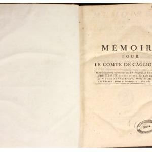 Recueils de factums imprimés issus de la bibliothèque des Portalis, avec de nombreuses annotations de Jean-Etienne-Marie Portalis (1782-1789)