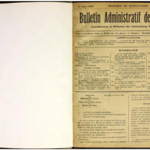 Bulletin administratif des mairies, Coordination et diffusion des instructions préfectorales