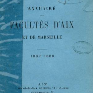 Annuaire des facultés d'Aix-Marseille