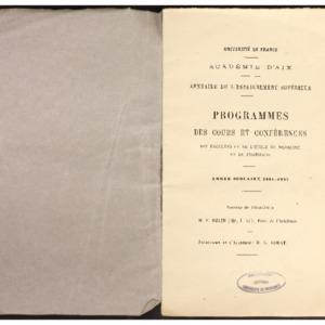 Annuaire de l'enseignement supérieur / Académie d'Aix