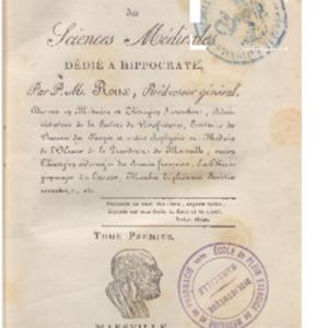 Observateur (L') provençal des sciences médicales