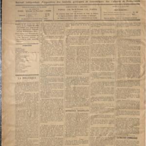 Tribune des colonies et des protectorats (La) : journal indépendant d'exposition des intérêts politiques et économiques des colonies et des protectorats