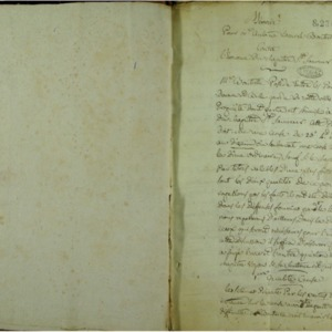 Factums, écrits, plaidoyers, consultations et mémoires (manuscrits)