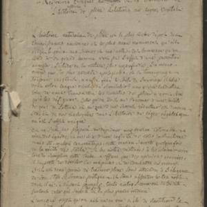 Réflexions critiques au sujet de la traduction de l'histoire naturelle de Pline relatives au règne végétal