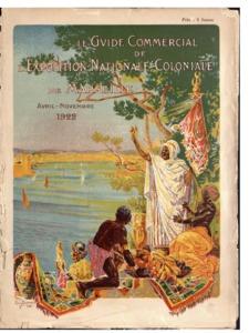 guide (Le) commercial de l'Exposition nationale coloniale de Marseille : avril-novembre 1922