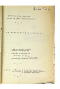 socialisme (Le) de Masaryk