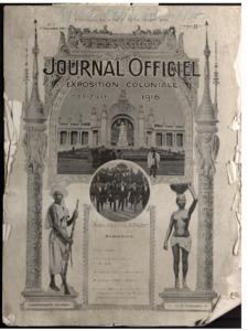 Journal officiel de l'Exposition coloniale, Marseille...