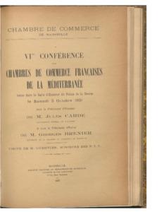 Conférence des Chambres de commerce de la Méditerranée