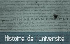 Histoire universite